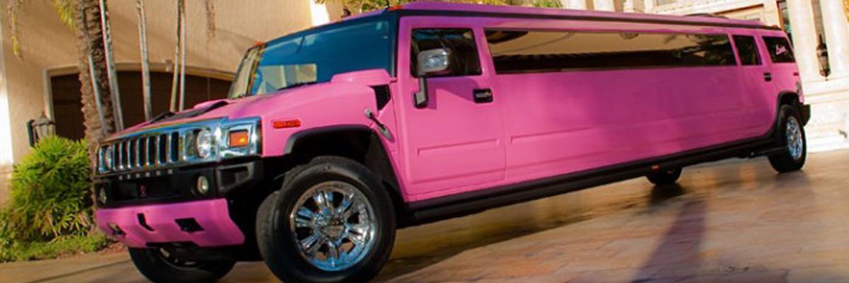 Pink Hummer Limo 1