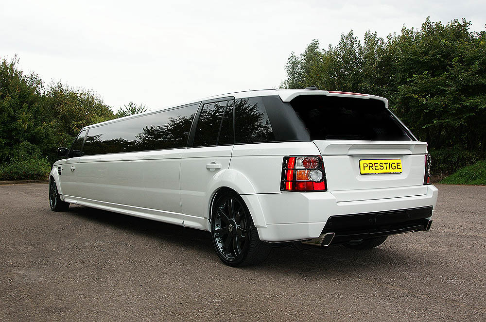 Rent A White Stretched Range Rover Limo Hire Rent A Limo
