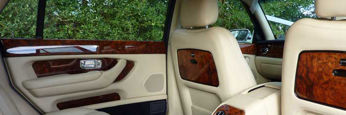 White Bentley Arnage 1
