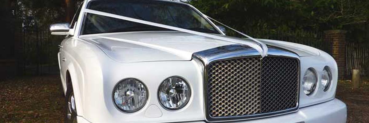 White Bentley Arnage 3