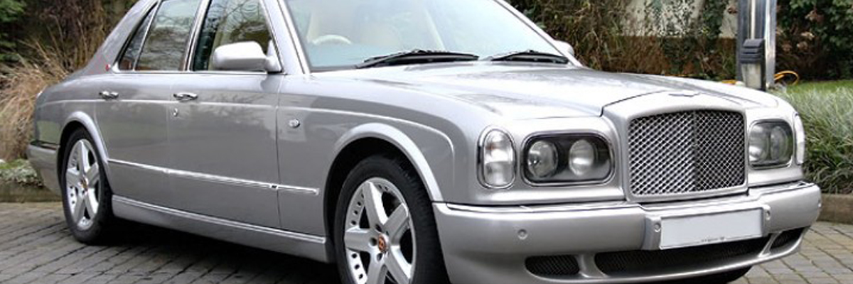 Silver Bentley Arnage 1