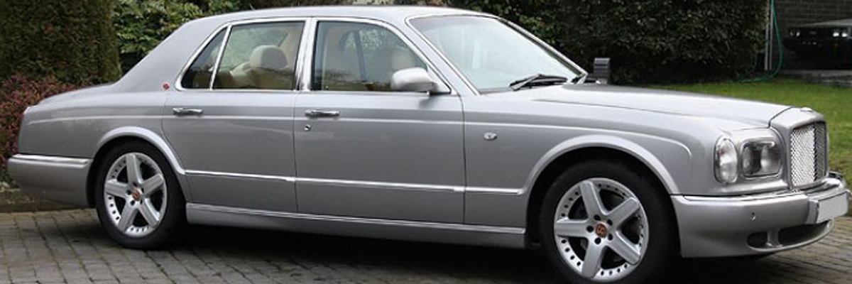Silver Bentley Arnage 2