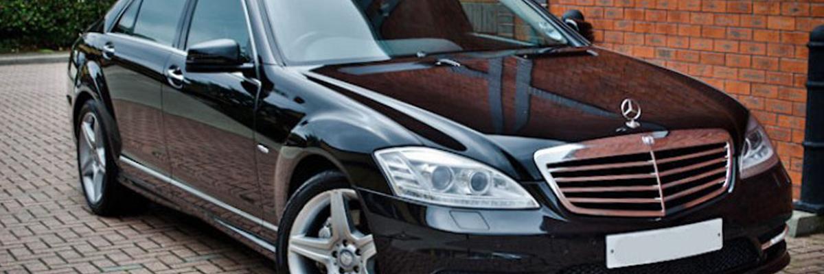 Black Mercedes S Class 1