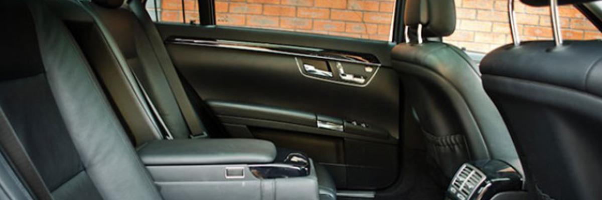 Black Mercedes S Class 3