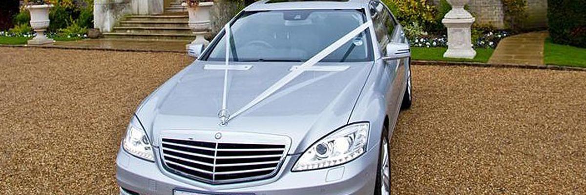 Silver Mercedes S Class 1